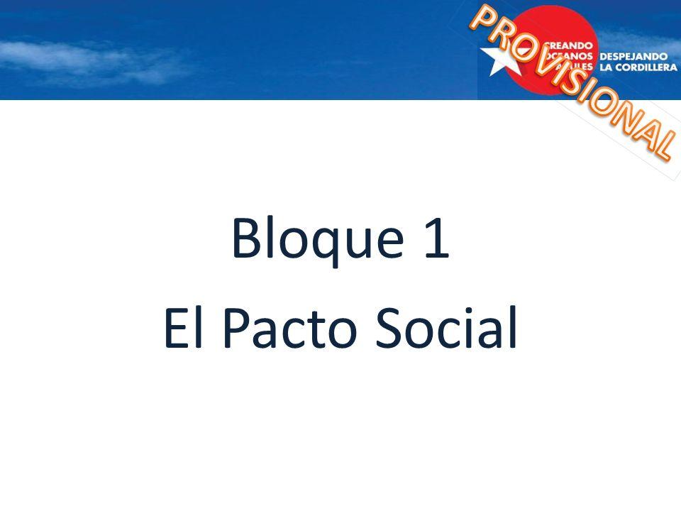 Bloque 1 El Pacto Social