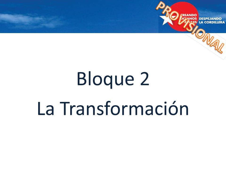 Bloque 2 La Transformación