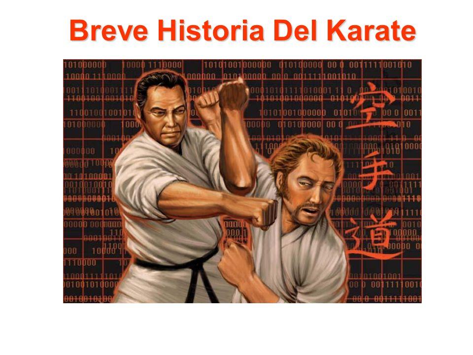 La palabra karate, traducida significa, MANOS VACIAS, Kara significa vacia y Te significa Mano.
