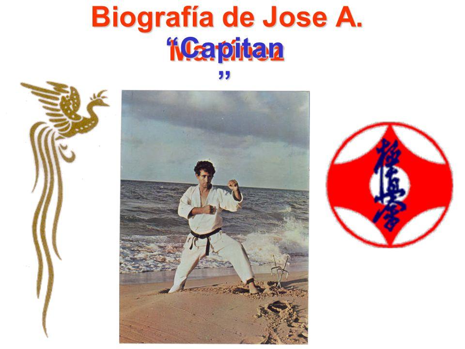 Biografía de Jose A. Martínez Capitan Capitan