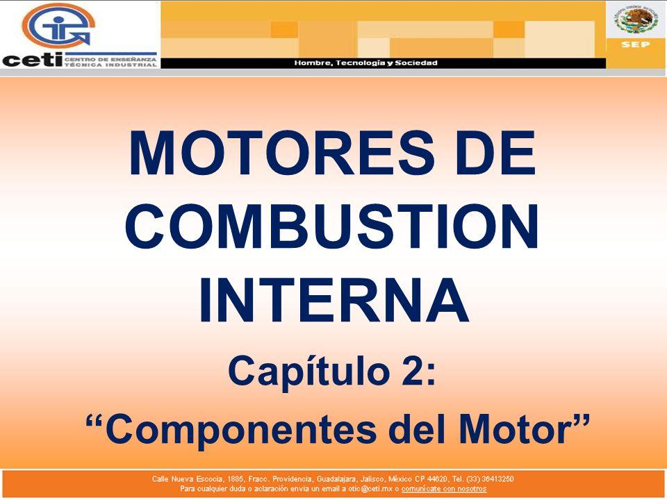 MOTORES DE COMBUSTION INTERNA Capítulo 2: Componentes del Motor