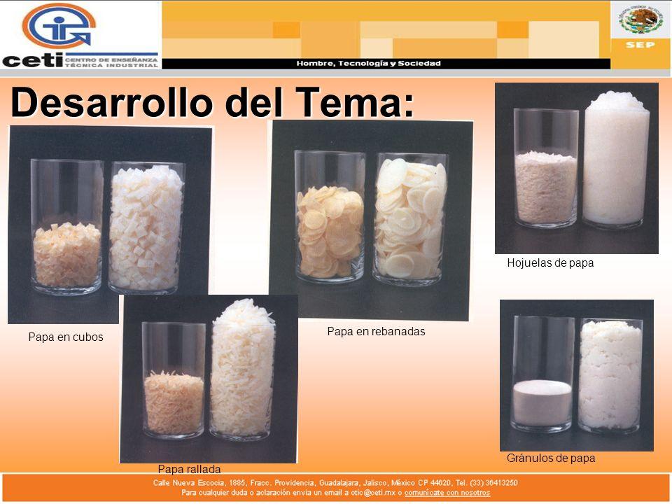 Desarrollo del Tema: Humectabilidad: Capacidad de las partículas de polvo para adsorber agua sobre su superficie.