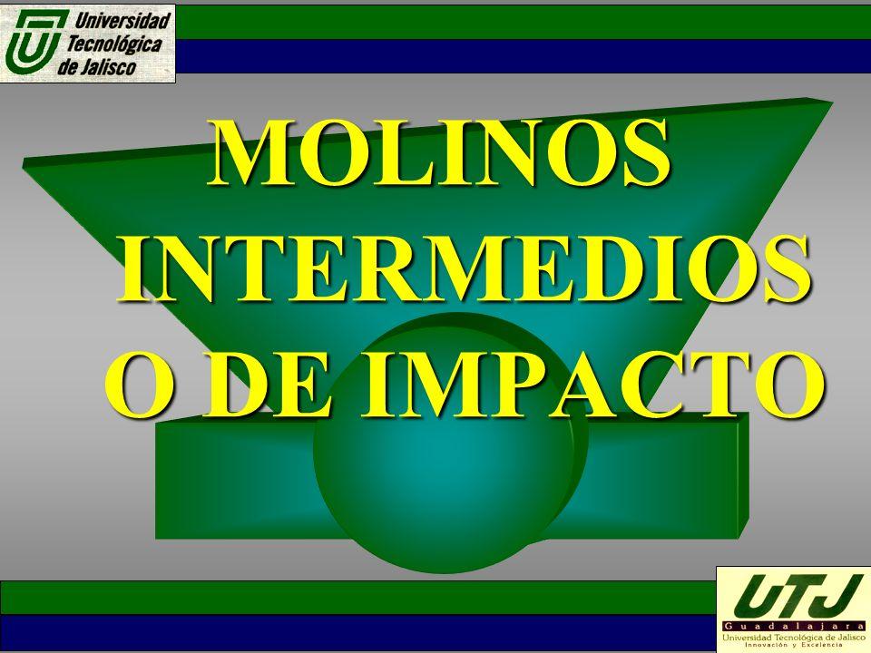 MOLINOS INTERMEDIOS O DE IMPACTO MOLINOS INTERMEDIOS O DE IMPACTO