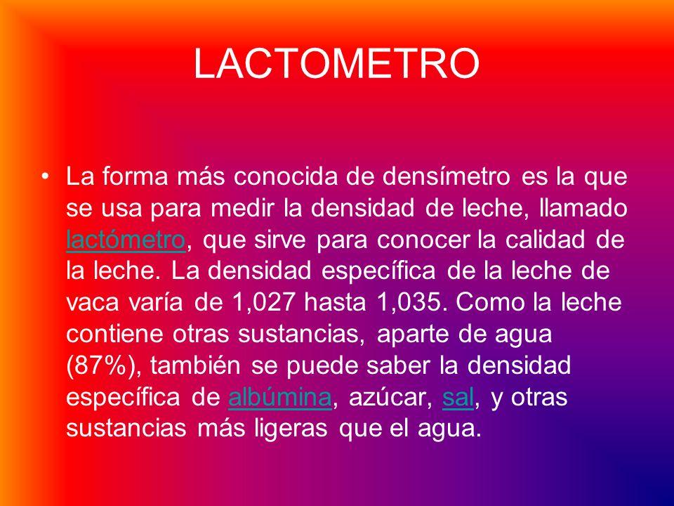 Lactómetro