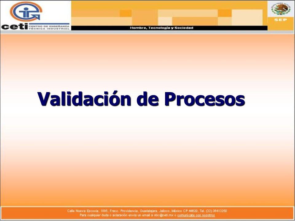 Validación de Procesos