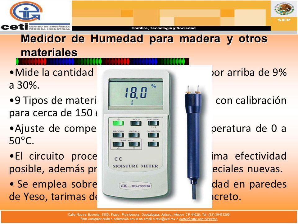 Condición Correcta de Medición: Una condición para la correcta medición de la humedad es que la evaporación tenga lugar en el aire de dentro que puede ser examinado, no en el aire humedecido por el psicrómetro en la evaporación.