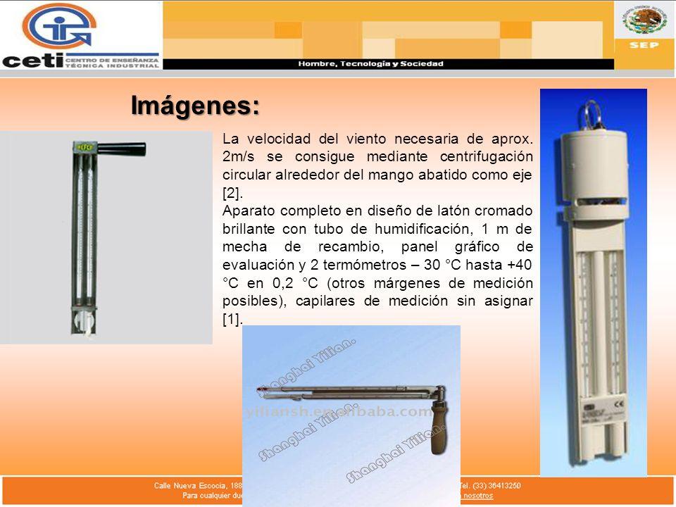 Imágenes: La velocidad del viento necesaria de aprox. 2m/s se consigue mediante centrifugación circular alrededor del mango abatido como eje [2]. Apar