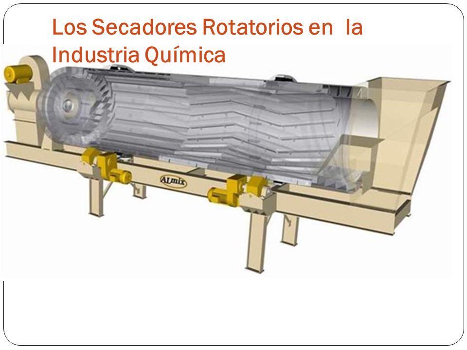 Los Secadores Rotatorios en la Industria Química
