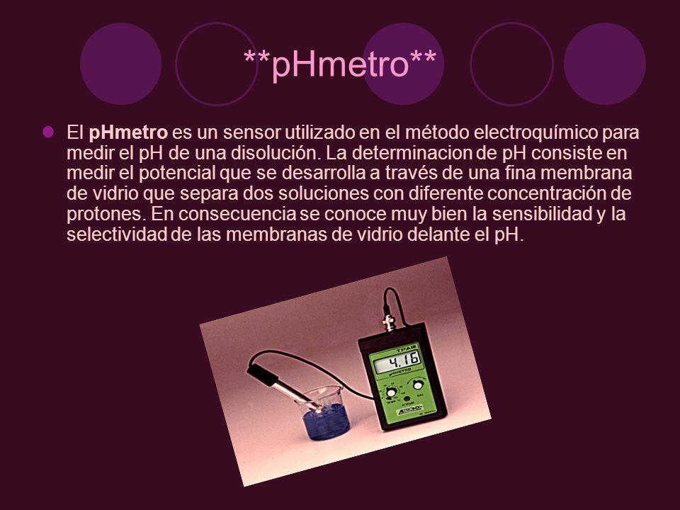 Aunque el diseño y la sensibilidad de los pHmetros es variable, sus componentes esenciales son un electrodo de vidrio, un electrodo de referencia y un voltímetro calibrado para poder leer directamente en unidades de pH.