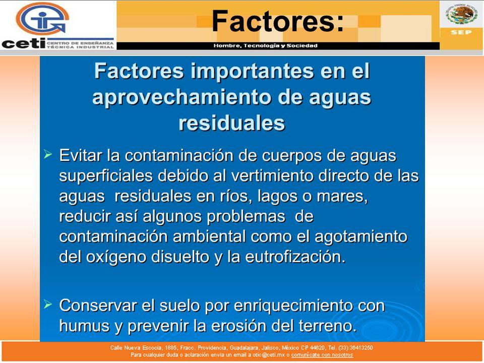 Factores: