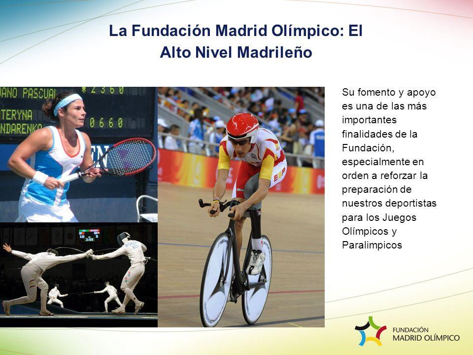 Su fomento y apoyo es una de las más importantes finalidades de la Fundación, especialmente en orden a reforzar la preparación de nuestros deportistas