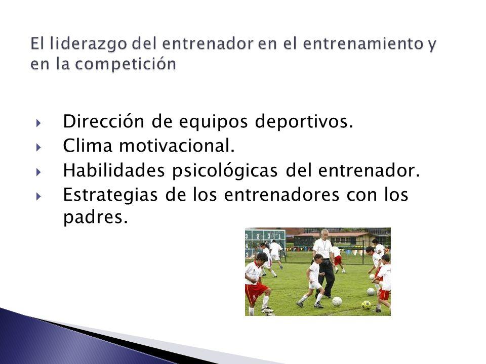 Características del entrenador experto Apasionado por su tarea, aprecia el detalle técnico, se considera capacitador de personas y entiende la exigencia y la afectividad como inseparables.