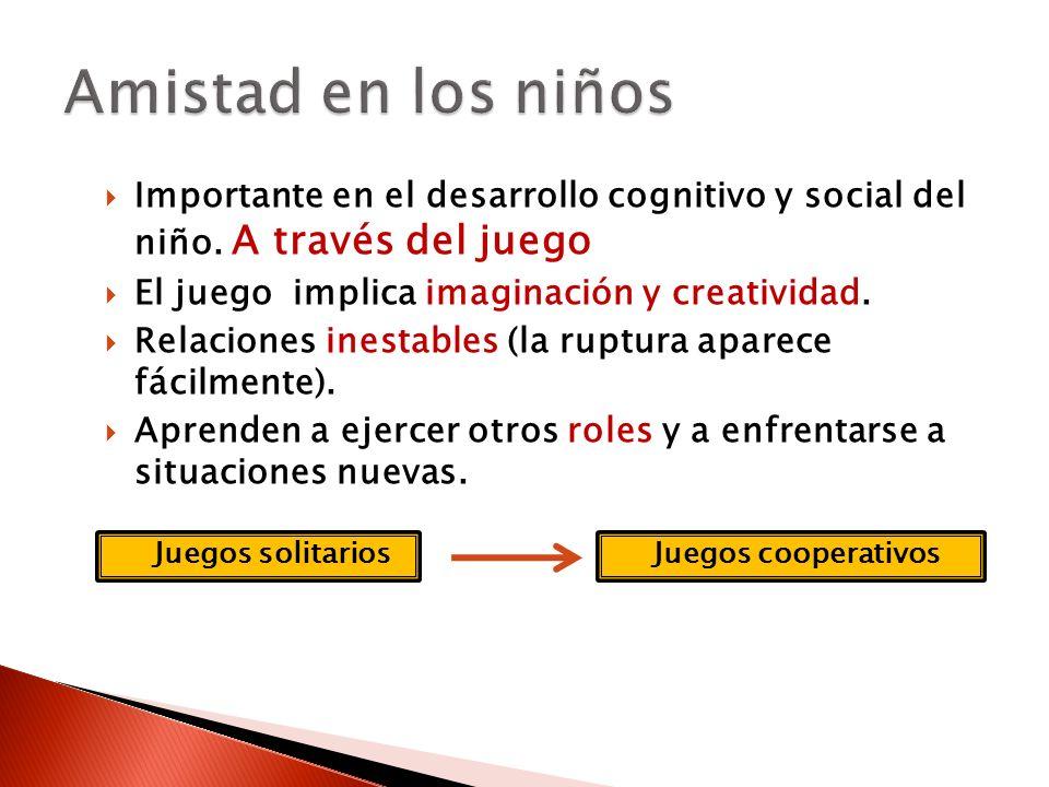 Importante en el desarrollo cognitivo y social del niño.