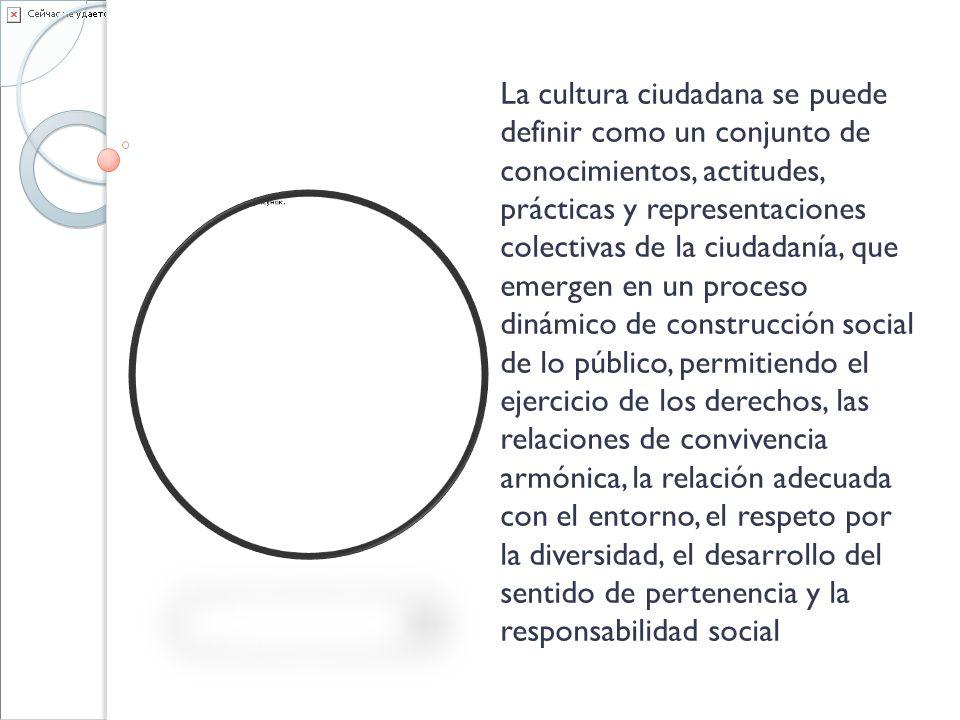 LOS GUARDAS CÍVICOS TAMBIÉN SON EDUCADORES DE CIUDAD Procesos pedagógicos para desarrollar alianzas con otras entidades del gobierno, La secretaría de Cultura ciudadana