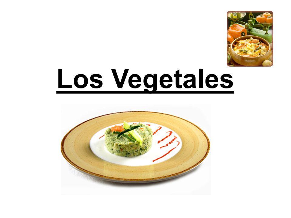 Clasificación de las Verduras