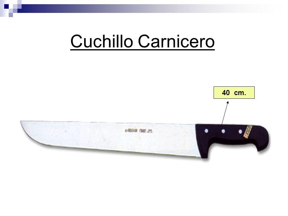 Cuchillo Carnicero 40 cm.