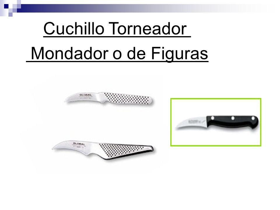 Cuchillo Torneador Mondador o de Figuras