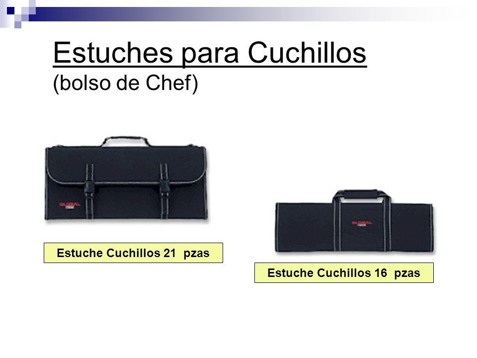Estuches para Cuchillos (bolso de Chef) Estuche Cuchillos 16 pzas Estuche Cuchillos 21 pzas