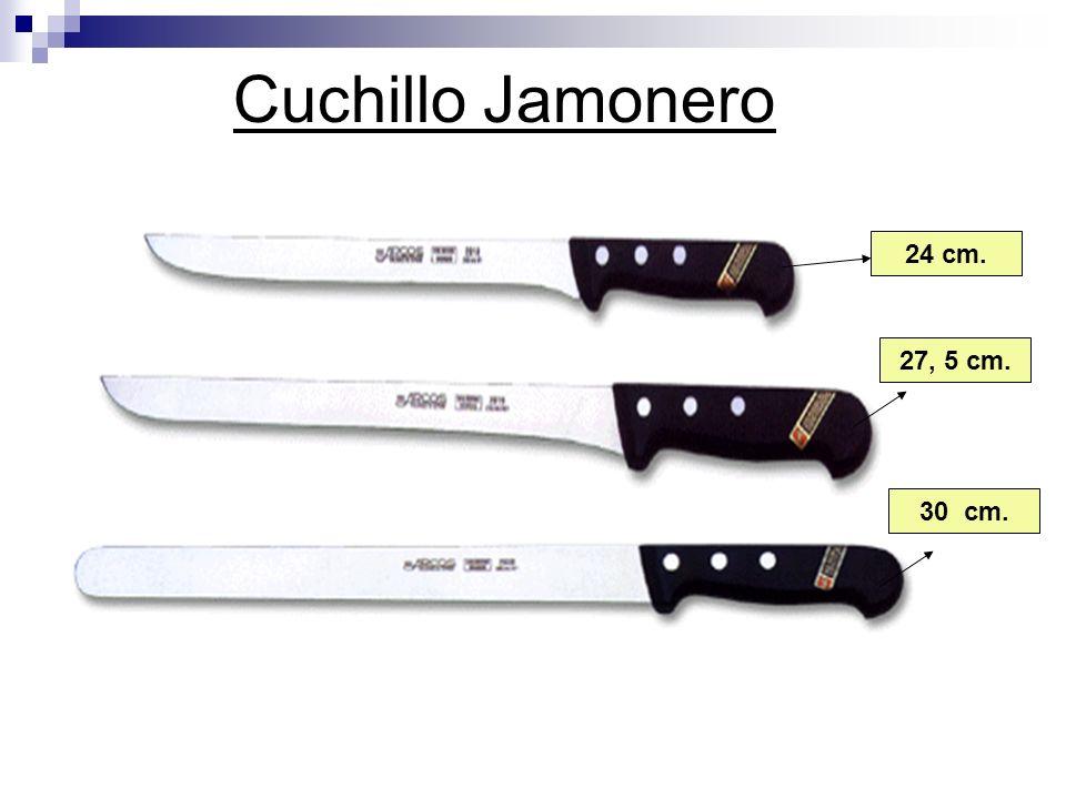 Cuchillo Jamonero 24 cm. 27, 5 cm. 30 cm.