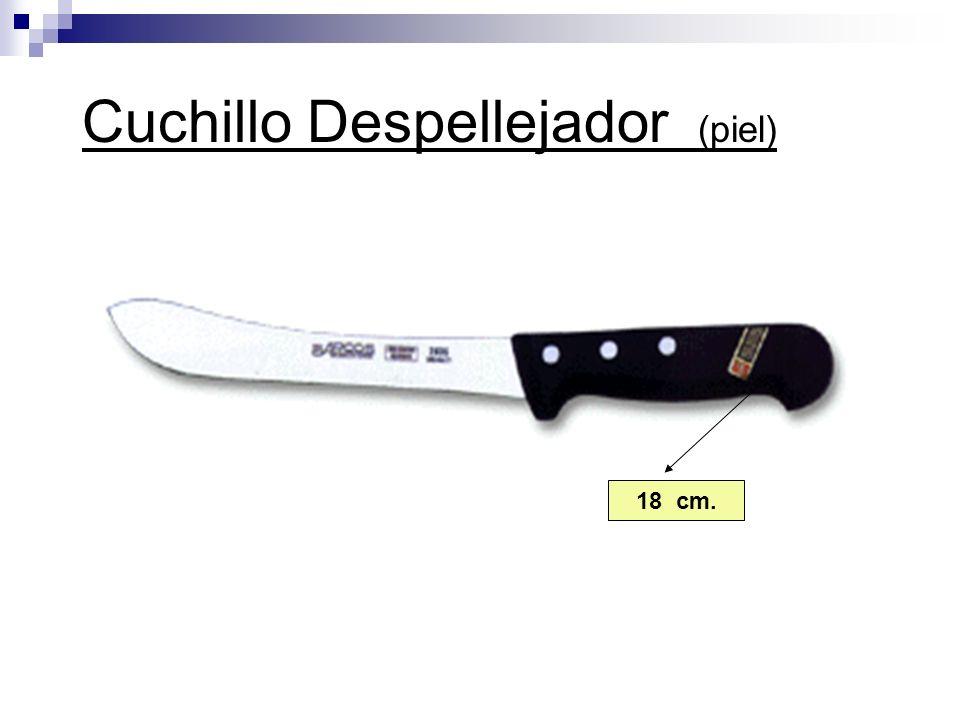 Cuchillo Despellejador (piel) 18 cm.
