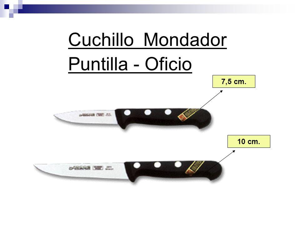 Cuchillo Mondador Puntilla - Oficio 7,5 cm. 10 cm.