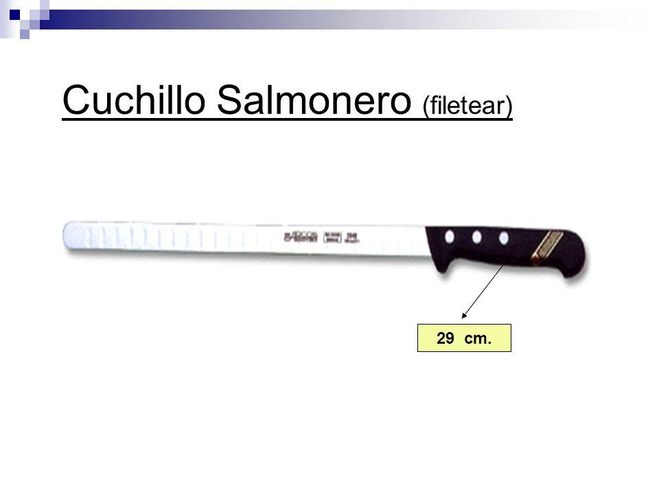 Cuchillo Salmonero (filetear) 29 cm.