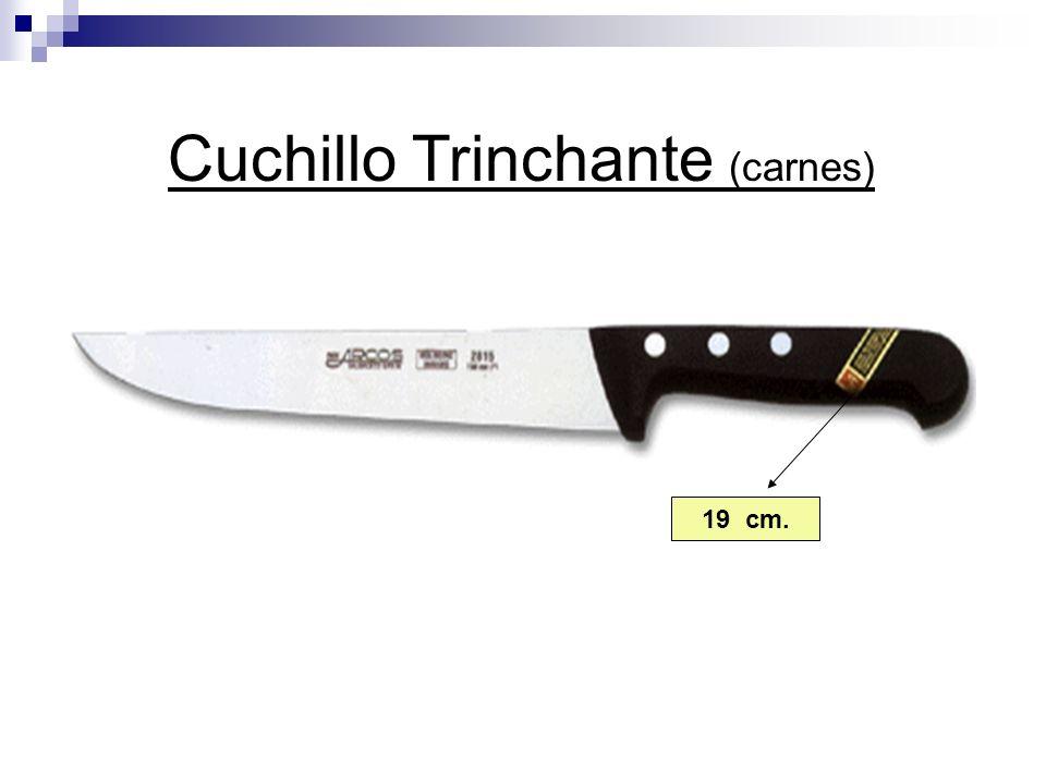 19 cm. Cuchillo Trinchante (carnes)