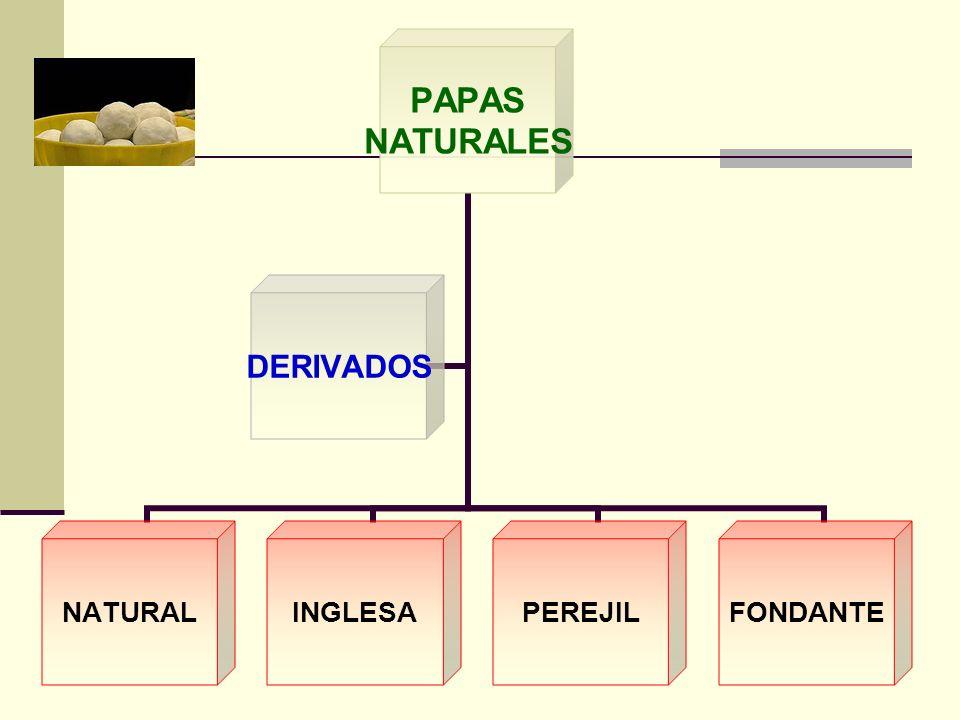 PAPAS NATURALES NATURALINGLESAPEREJILFONDANTE DERIVADOS