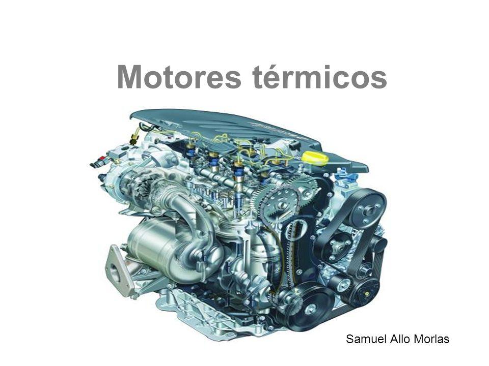 Motor térmico La energía del fluido que atraviesa la máquina disminuye, obteniéndose energía mecánica.