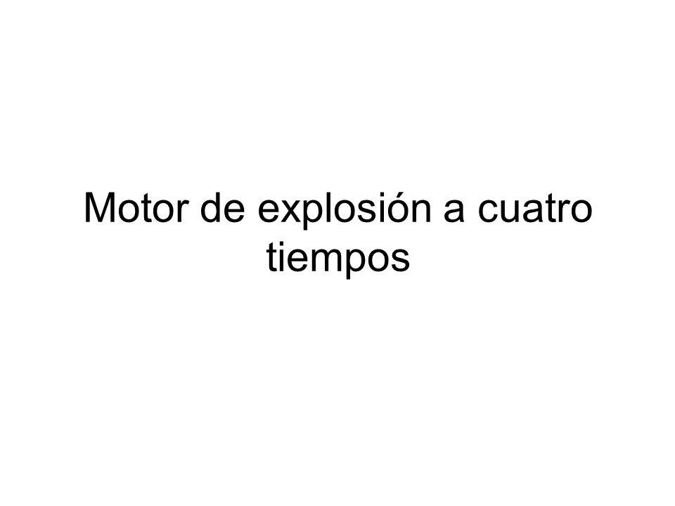 Motor de explosión a cuatro tiempos