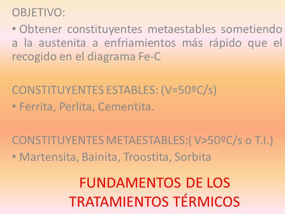 CONSTITUYENTES METAESTABLES MARTENSITA: V.
