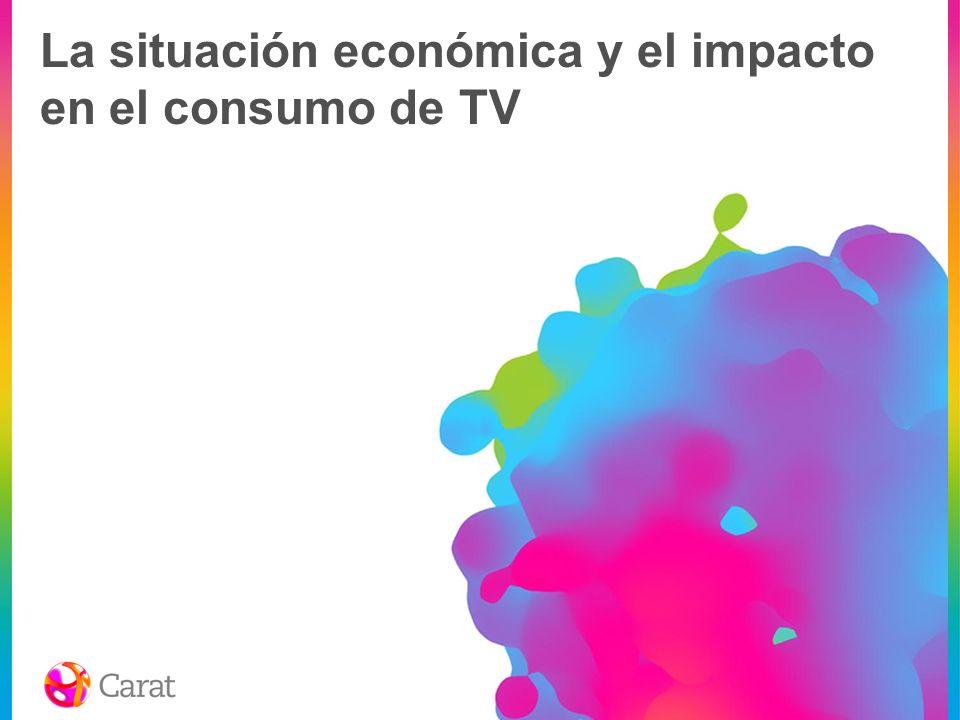 La economía, principal preocupación de los consumidores en el momento actual 1er semestre 2008 Fuente: Nielsen Consumer Confidence Index Survey (1er sem 2008)