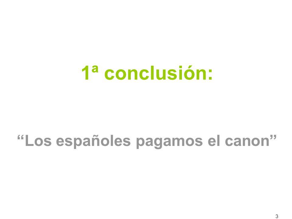 3 1ª conclusión: Los españoles pagamos el canon