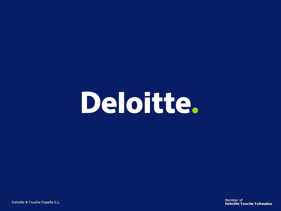 ©2005 Deloitte14 Deloitte & Touche España S.L. Member of Deloitte Touche Tohmatsu