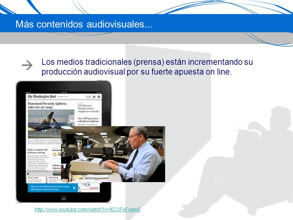 Más contenidos audiovisuales...