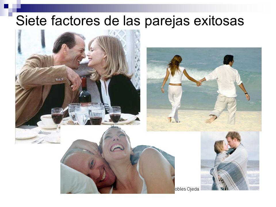 Presentación realizada por: Mtro. Fco. Javier Robles Ojeda Siete factores de las parejas exitosas
