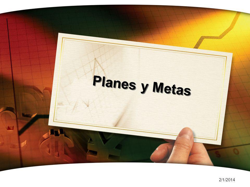 2/1/2014 Planes y Metas