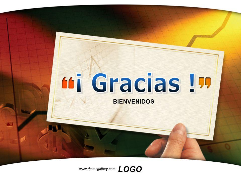 LOGO www.themegallery.com BIENVENIDOS