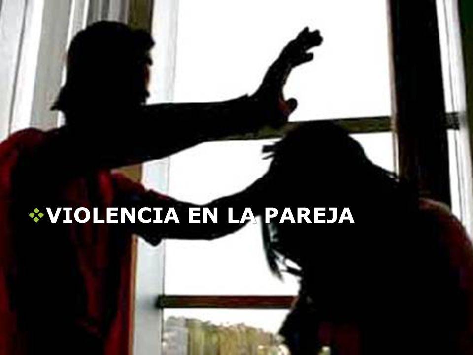 LOGO Presentación realizada por: Mtro. Fco. Javier Robles Ojeda para la materia de Terapia de familia VIOLENCIA EN LA PAREJA VIOLENCIA EN LA PAREJA