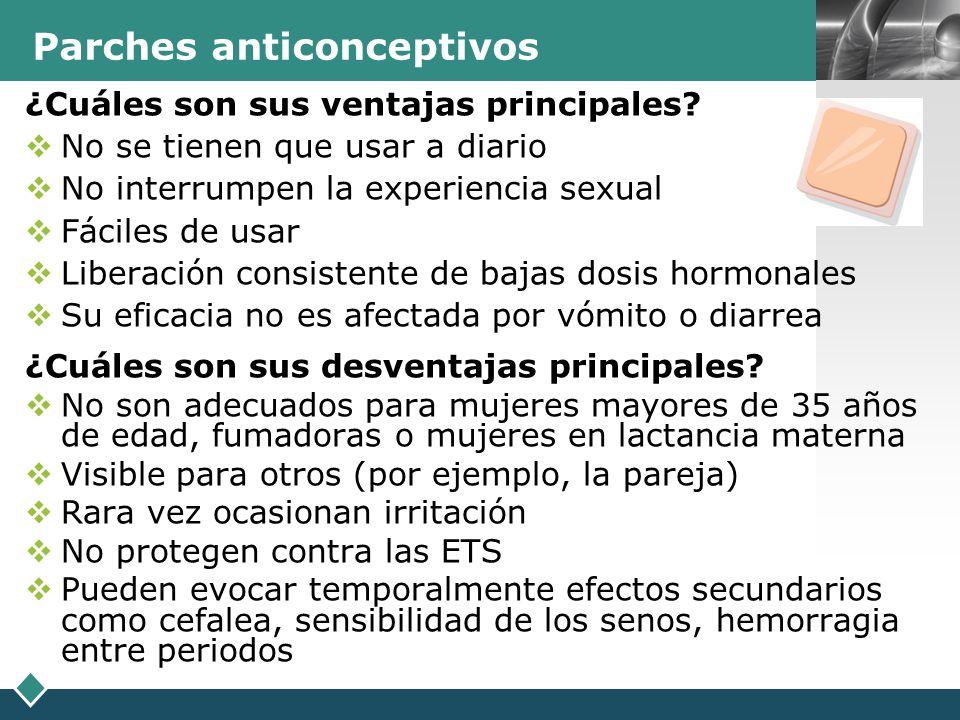 LOGO Inyecciones anticonceptivas ¿Qué son.