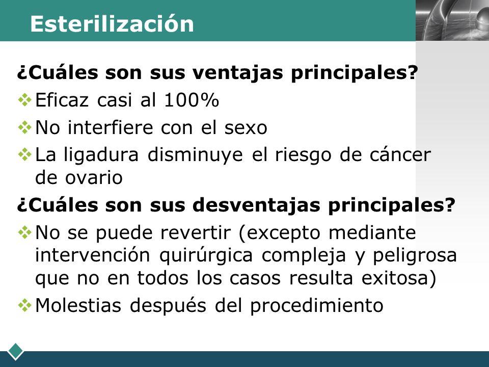 LOGO Métodos alternativos basados en la detección de la fertilidad
