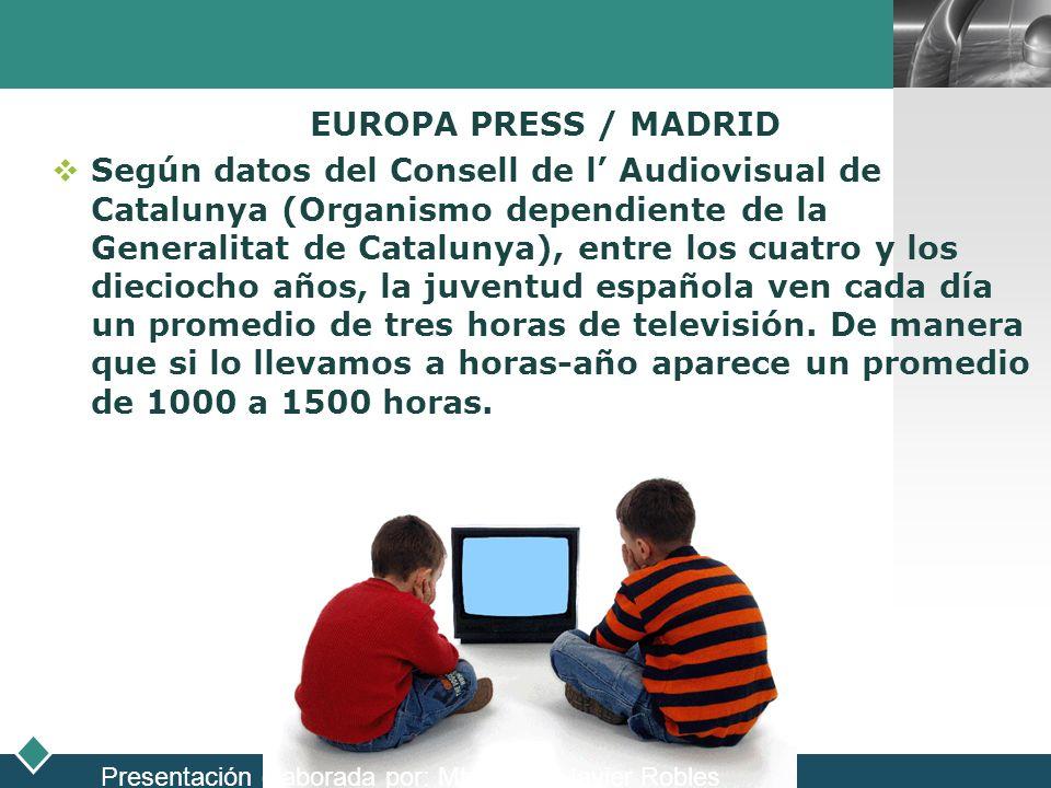 LOGO EUROPA PRESS / MADRID Según datos del Consell de l Audiovisual de Catalunya (Organismo dependiente de la Generalitat de Catalunya), entre los cua