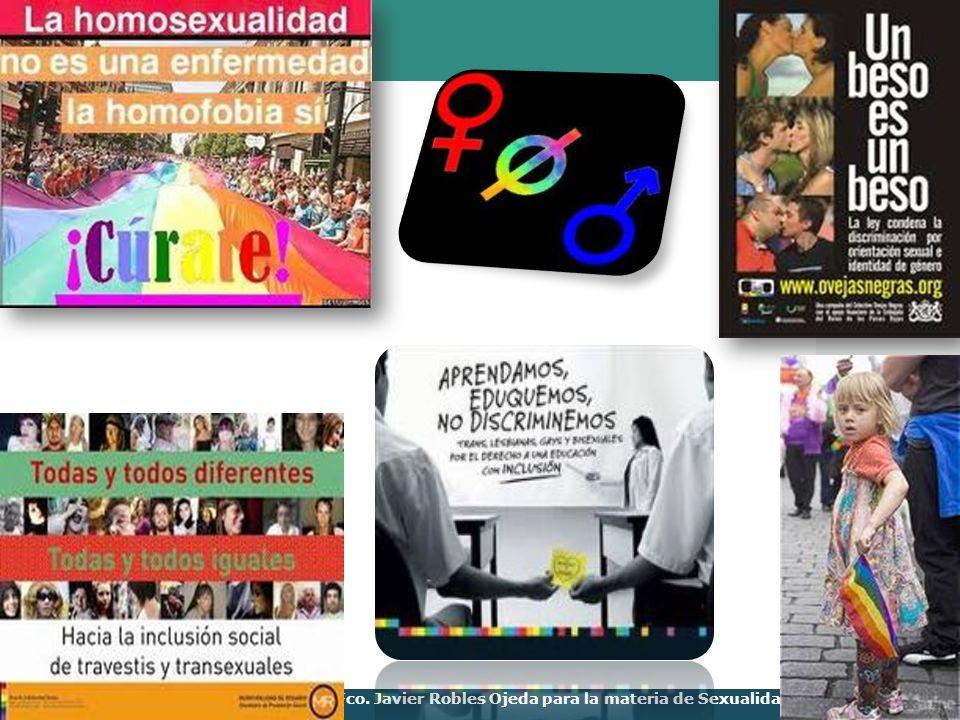 LOGO Presentación realizada por Mtro. Fco. Javier Robles Ojeda para la materia de Sexualidad y Género