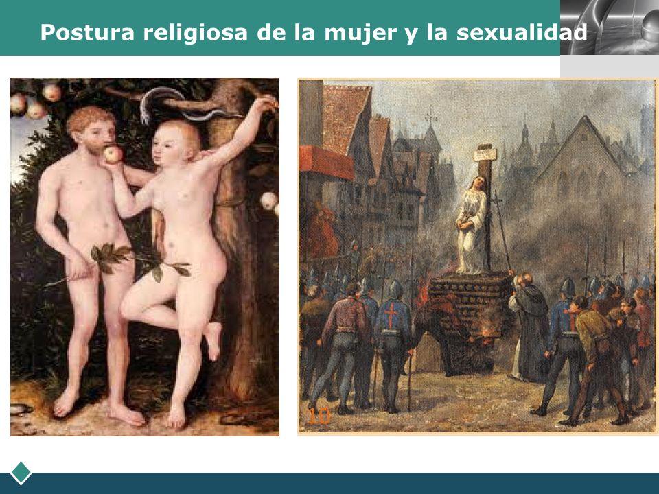 LOGO Postura religiosa de la mujer y la sexualidad