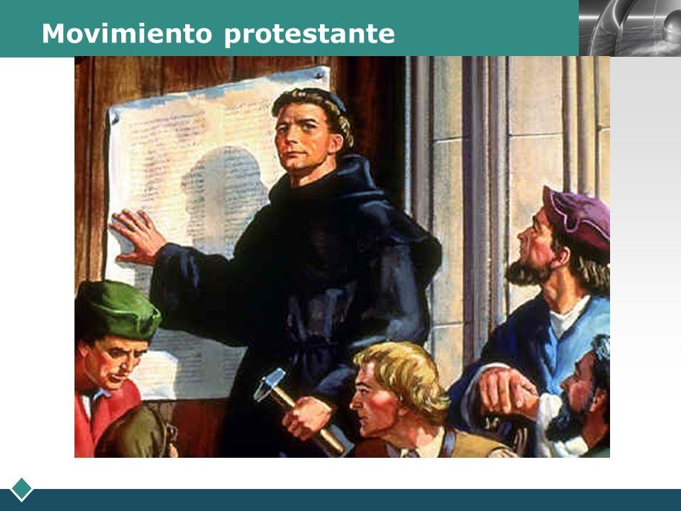 LOGO Movimiento protestante