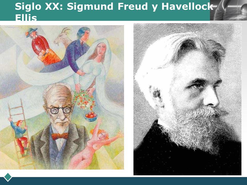 LOGO Siglo XX: Sigmund Freud y Havellock Ellis