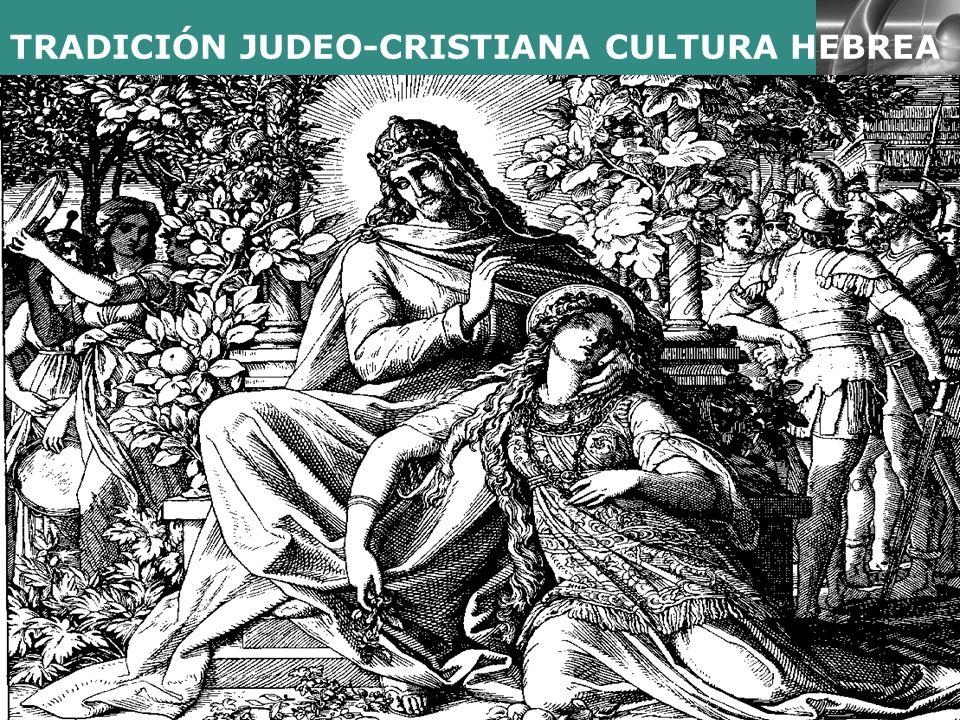 LOGO TRADICIÓN JUDEO-CRISTIANA CULTURA HEBREA