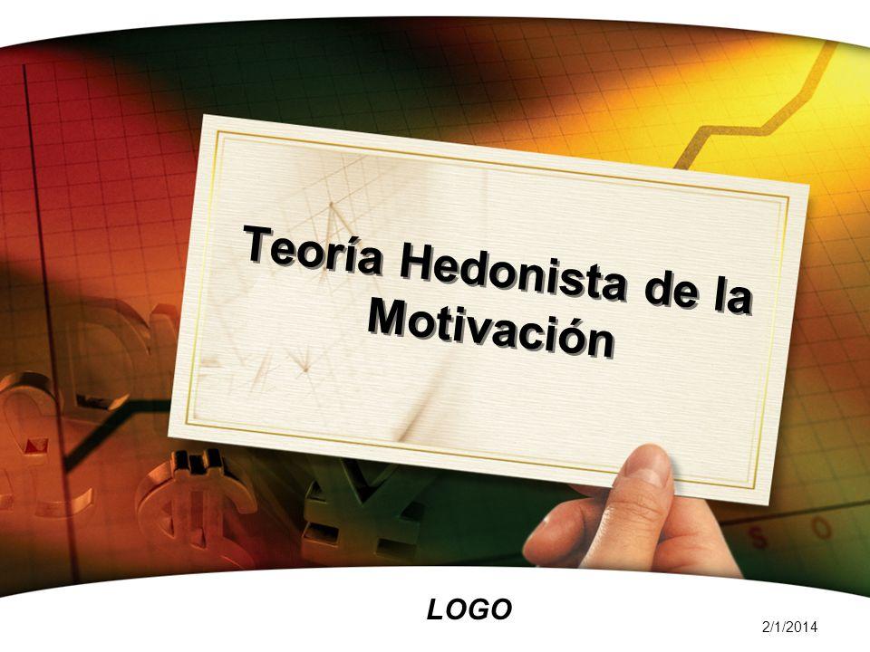 LOGO 2/1/2014 Teoría Hedonista de la Motivación