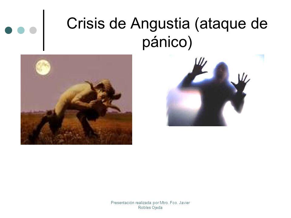 Crisis de Angustia (ataque de pánico) ¿En qué consiste.