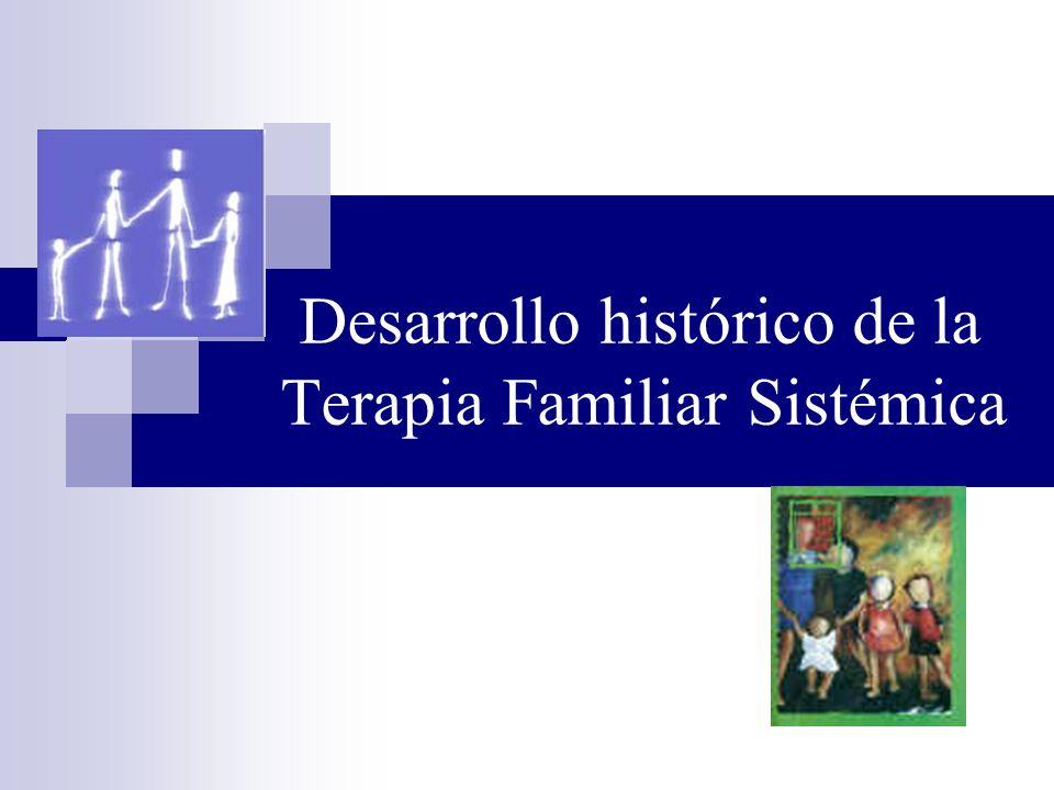 Modelos posmodernos (1980s-actualidad) A partir de la década de 1980 la terapia familiar sistémica empieza a asumir nuevos enfoques teóricos como el construccionismo social, el pensamiento posmoderno y la teoría foucaltiana.